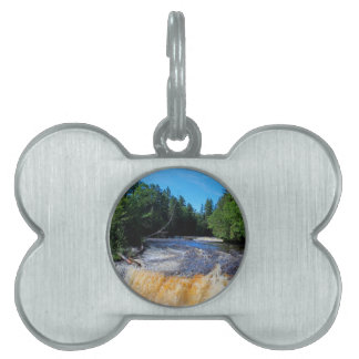 Tahquamenon Lower Falls III Pet ID Tags