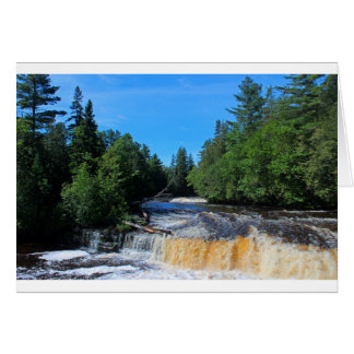 Tahquamenon Lower Falls IV Card