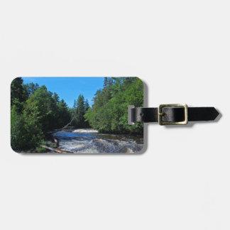 Tahquamenon Lower Falls IV Luggage Tag