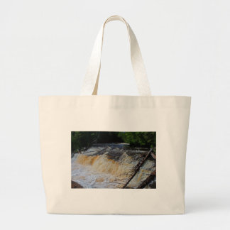 Tahquamenon Lower Falls Large Tote Bag