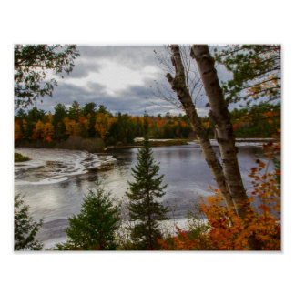 Tahquamenon River in Fall, Michigan Poster