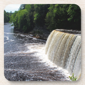 Tahquamenon Upper Falls I Beverage Coaster