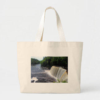 Tahquamenon Upper Falls I Large Tote Bag