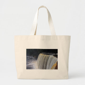 Tahquamenon Upper Falls II Large Tote Bag