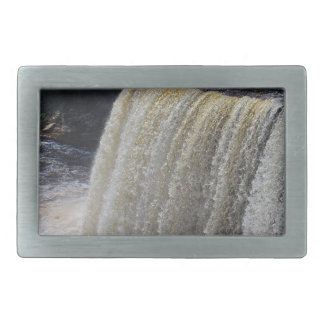 Tahquamenon Upper Falls II Rectangular Belt Buckle