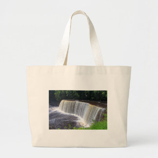 Tahquamenon Upper Falls III Large Tote Bag