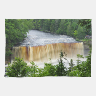 Tahquamenon Upper Falls Kitchen Towel