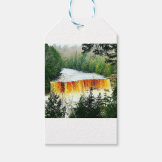 Tahquamenon Upper Falls Upper Peninsula Michigan Gift Tags