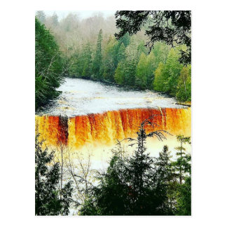 Tahquamenon Upper Falls Upper Peninsula Michigan Postcard