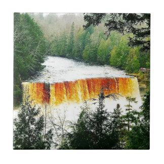 Tahquamenon Upper Falls Upper Peninsula Michigan Tile