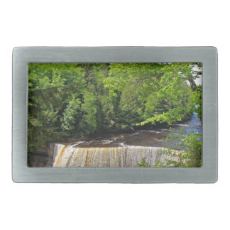 Tahquamenon Upper Falls VI Rectangular Belt Buckles