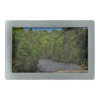 Tahquamenon Upper Falls VII Belt Buckle