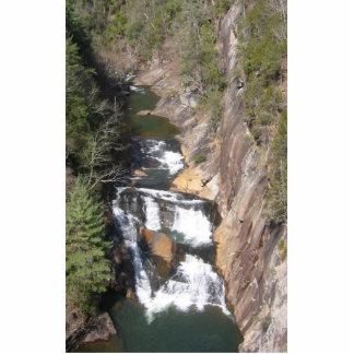 Tahula Gourge Falls At Georgia In Usa Photo Cutouts