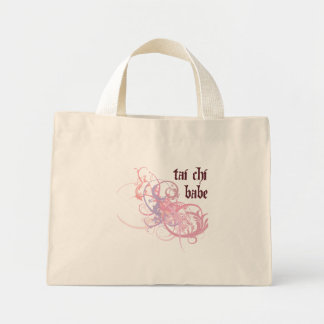 Tai Chi Babe Mini Tote Bag