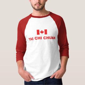 Tai Chi Chuan Canada Raglan T-Shirt