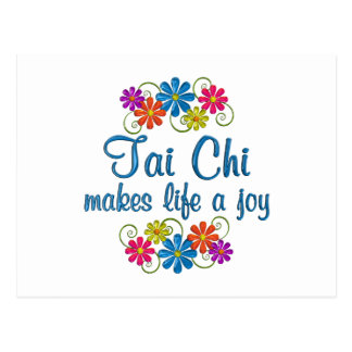 Tai Chi Joy Postcard
