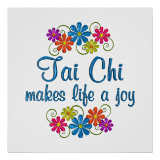 Tai Chi Joy Poster
