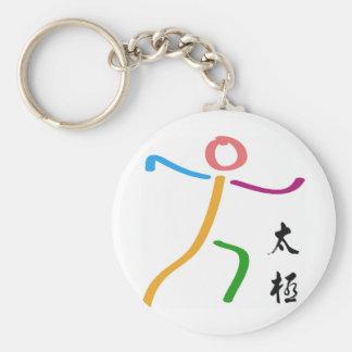 Tai Chi Logo Keychain