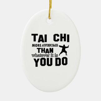 TAI CHI MARTIAL arts gifts Ceramic Ornament
