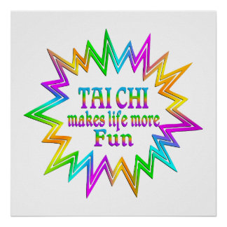 Tai Chi More Fun Poster