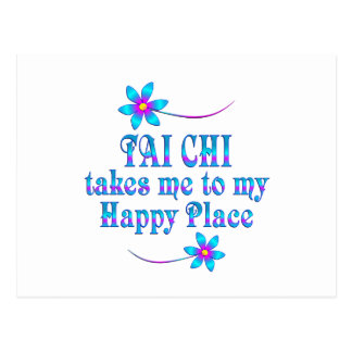 Tai Chi My Happy Place Postcard