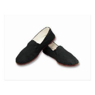 tai chi shoes postcard