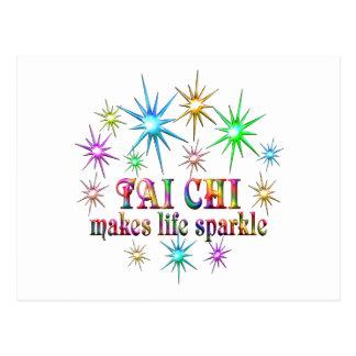 Tai Chi Sparkles Postcard