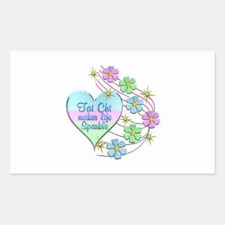 Tai Chi Sparkles Sticker