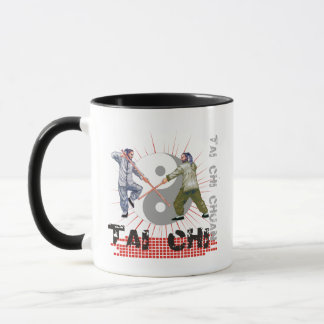Tai Chi Staff Fighting Mug