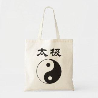 Tai Chi tote bags