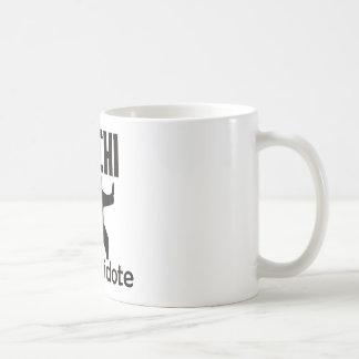 Taichi design coffee mug