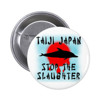 Taiji Slaughter 2 Inch Round Button