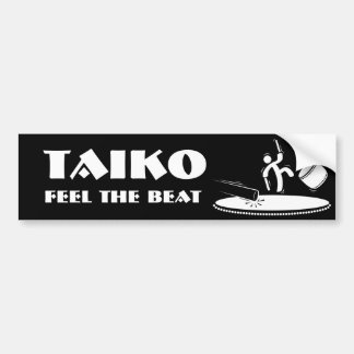 Taiko - Feel the Beat - Bumper Sticker