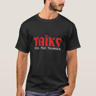 "Taiko ""Feel The Thunder"" Dark T Shirt"