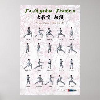 Taikyoku Shodan - First Kata Poster