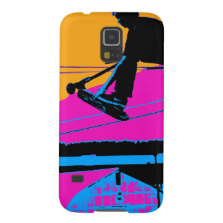 Tail Grabbing High Flying Scooter Galaxy S5 Cases