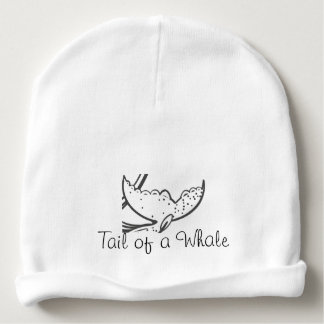 Tail of a Whale Baby Beanie