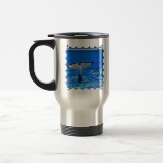 Tail of a Whale  Travel Mug