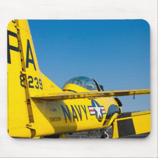 Tail Shot 138239 N726A T-28B Trojan mousepad