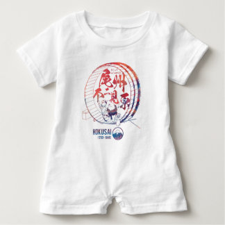 Tail state unique seeing field baby romper