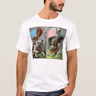 Tail Troubles Assorted Victorian Trade Cards T-Shirt