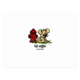 Tail Waggin Gratitude - Relief Postcard