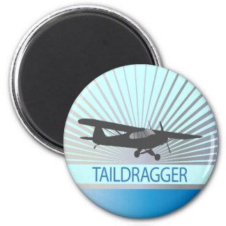 Taildragger Airplane Magnet