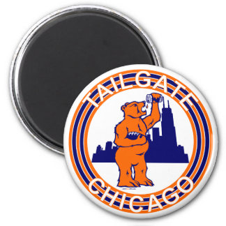 TAILGATE CHICAGO 2 INCH ROUND MAGNET