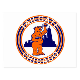 TAILGATE CHICAGO POSTCARD