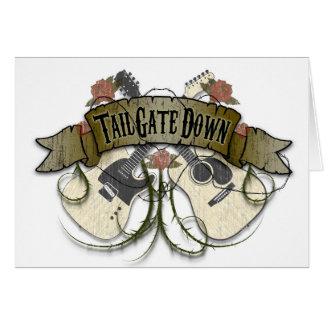 Tailgate Down Greeting Cards