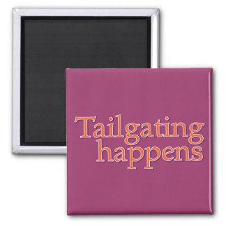 Tailgating Happens Refrigerator Magnet