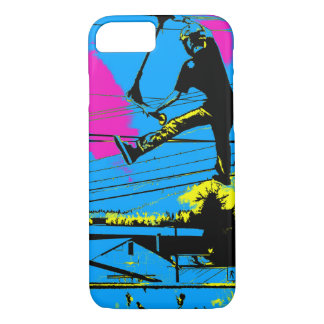 Tailgating - High Flying Scooter Stunt iPhone 8/7 Case