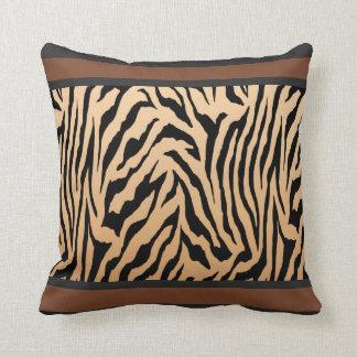 Tailored Tiger Stripe Throw Pillow