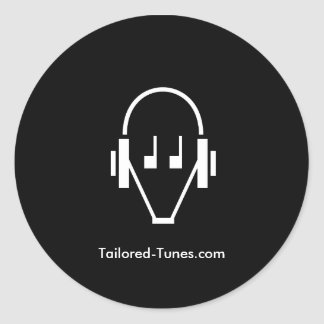Tailored Tunes sticker